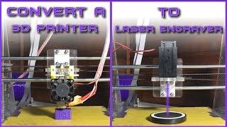 Convert a 3D PRINTER To LASER ENGRAVER | Under 40$