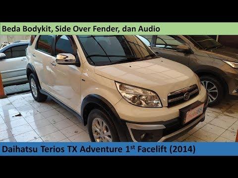 Daihatsu Terios TX Adventure 1st FL (2014) review - Indonesia
