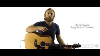 Wanna Be That Song Guitar Lesson and Tutorial - Brett Eldredge