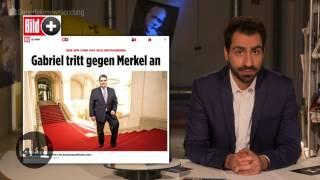 Sigmar Gabriel verzichtet auf's Kanzleramt – und wird Außenminister
