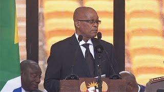 Full Jacob Zuma speech: President met with boos during Mandela memorial