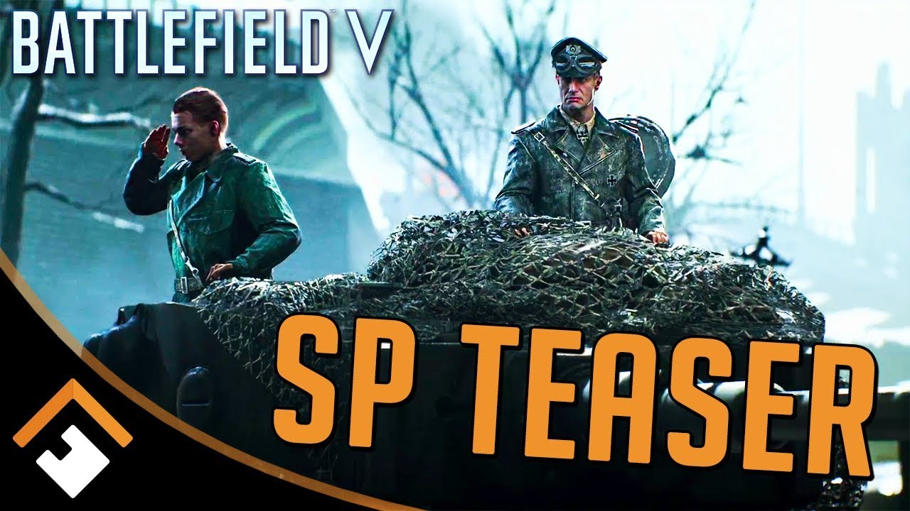 Battlefield V: War Stories Official Singleplayer Teaser Trailer Ft. Mark Strong