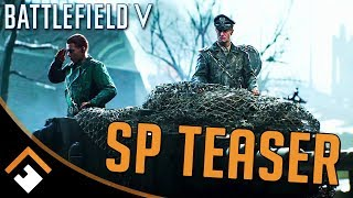 Battlefield V: War Stories Official Singleplayer Teaser Trailer Ft. Mark Strong