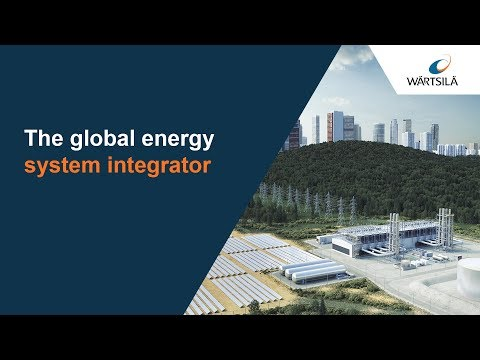 The leading global energy system integrator | Wärtsilä
