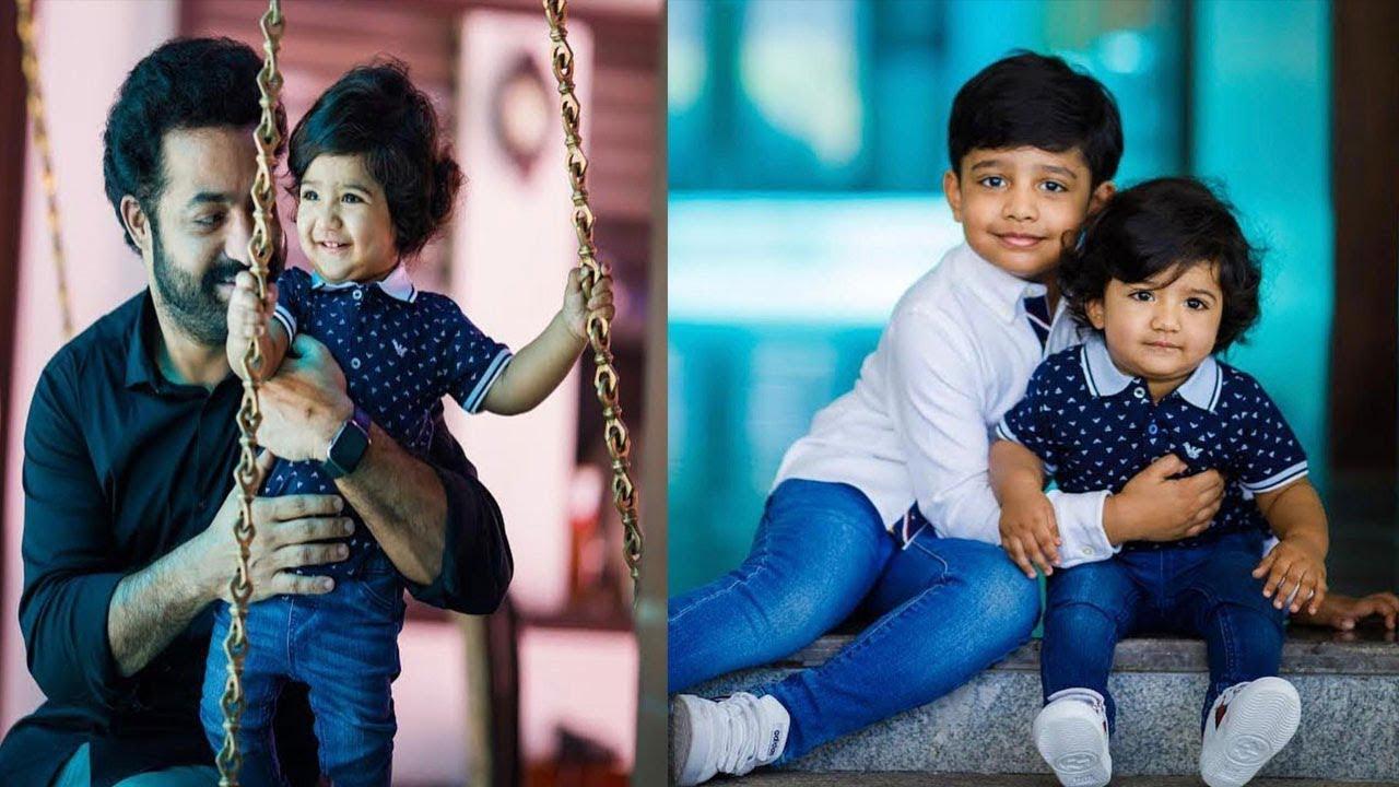Jr NTR Son Bhargava Ram Unseen Photos | Jr NTR Family Photos | Abhay Ram |  Film Jalsa - YouTube