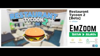 Roblox Resturant Tycoon 2 [Beta] [1]