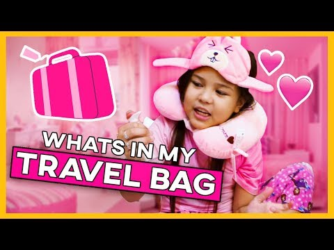 WHAT'S IN MY TRAVEL BAG? + HAUL (PHILIPPINES)