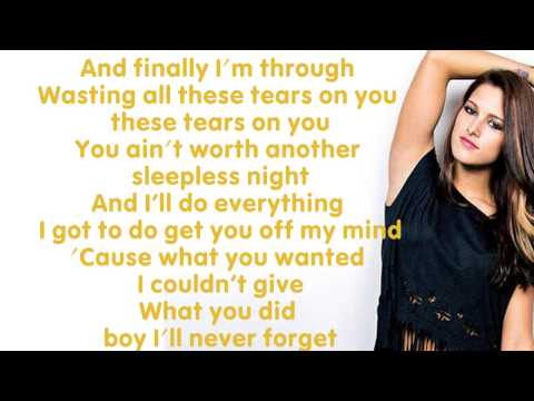 Wasting All These Tears- Cassadee Pope [Lyics]