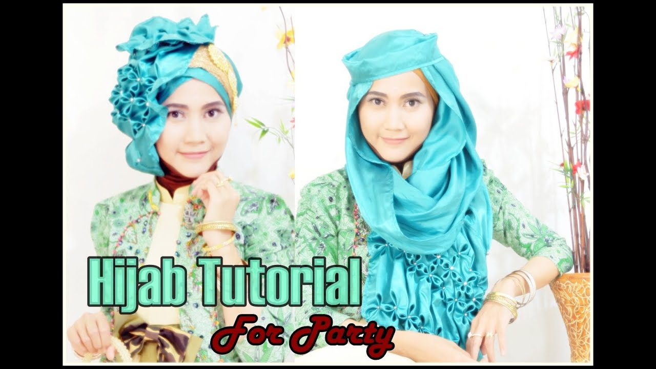 Tutorial Hijab Pesta Dan Wisuda Beaded WF Jasmine By Didowardah