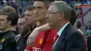 April 19th 2009 FA cup Manchester United VS Everton Penalty Shoot Out (2:4)