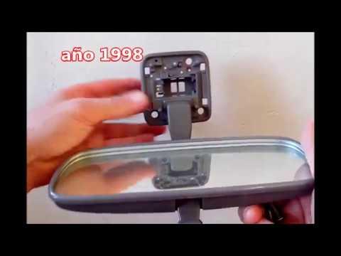 Como solucionar ruido espejo retrovisor interior hilux for Espejo retrovisor interior