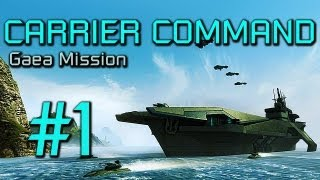 Thumbnail für das Carrier Command: Gaea Mission (Beta) Let's Play
