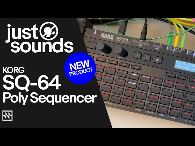 Just Sounds: Korg SQ-64 Polyphonic Sequencer