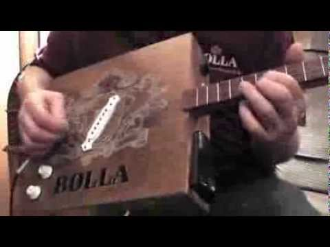 Bolla Wine Box Guitar ... The softer sounds of  bolla...