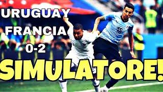 MBAPPÉ SIMULATORE COME NEYMAR???! URUGUAY FRANCIA 0-2