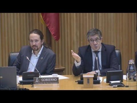 "Choque de Iglesias con Vox: ""A Vox le gustaría dar un golpe de Estado"""