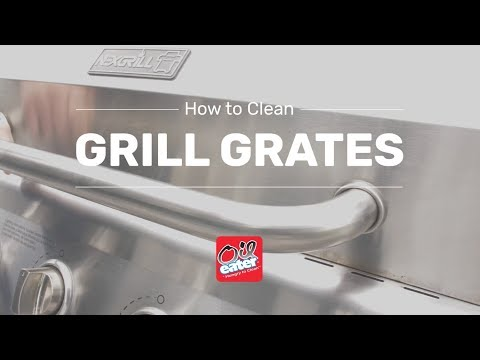 How to Clean Grill Grates - Gas and Charcoal Deep-cleaning - Oil Eater Cleaner Degreaser