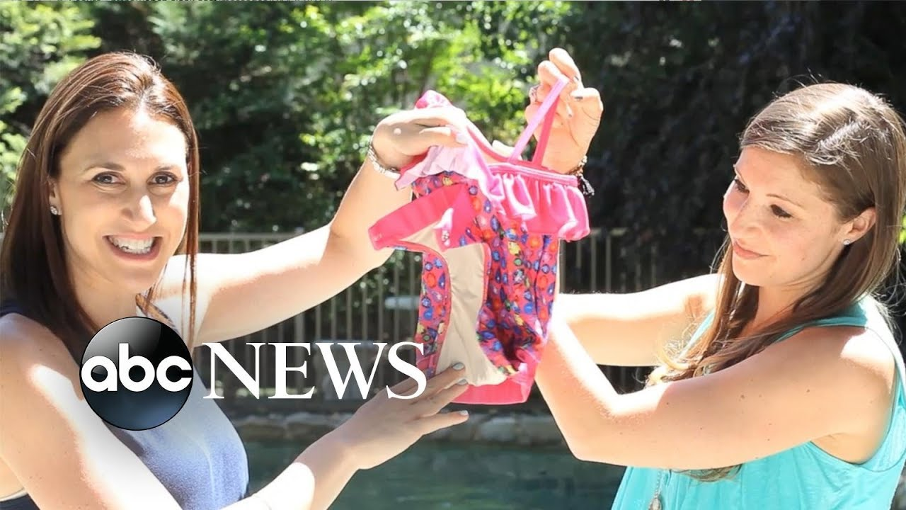 Moms' bathing suit design solves every parent's beach day debacle