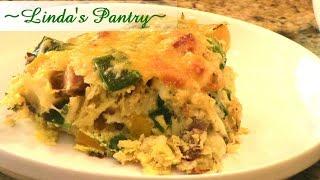 ~easy Prep Ahead Breakfast Casserole With Linda's Pantry~