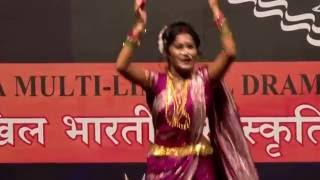 National Level 1st Prize winning Lavani Performance by Anamika Ahire