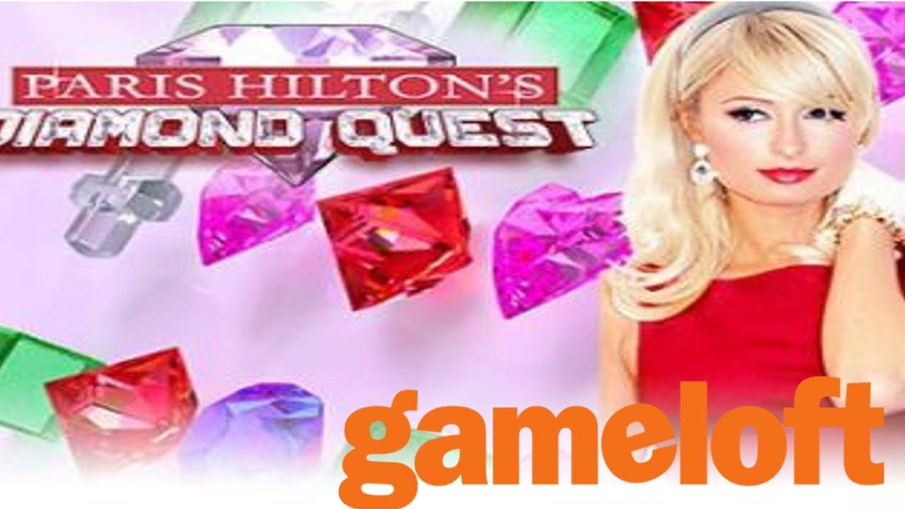 """""""Paris Hilton's Diamond Quest"""" Java Game (Gameloft 2006 year)"""