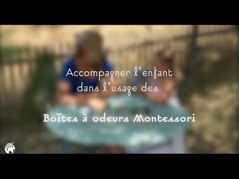 Boite à odeurs Montessori - Collection de matériel Montessori par Nature et Découvertes