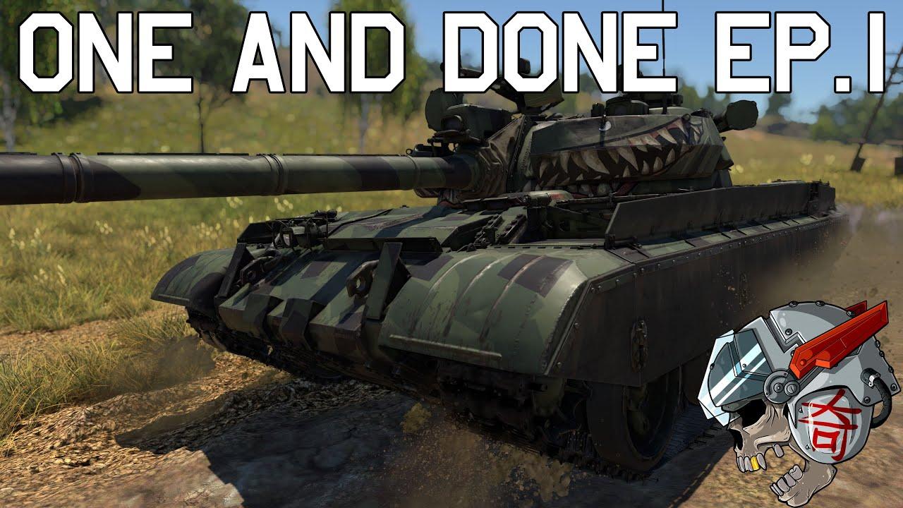 War Thunder T55am1