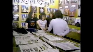 Motorhead - Record Peddler, Toronto May 7 1981 (New Music -full band interview) 'Ace Of Spades' tour
