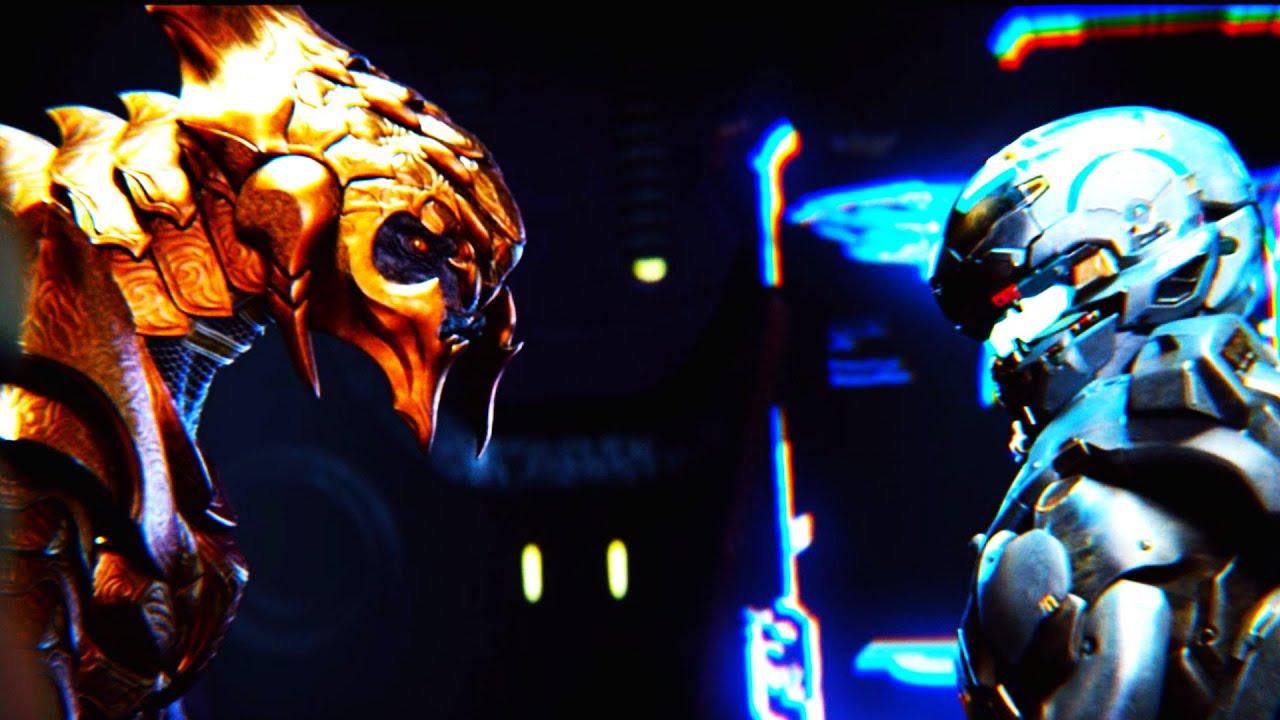 Halo 5: Agent Locke & Arbiter Hunting Master Chief - YouTube Halo Master Chief Vs Arbiter