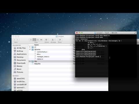 Makefile python script
