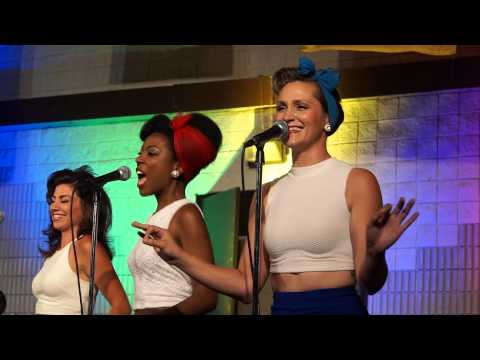 The Andrew Sisters - Boogie Woogie Bugle Boy - cover by the Lovettes