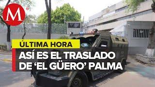 Arraigan en CdMx a 'El Güero' Palma, ex líder del cártel de Sinaloa
