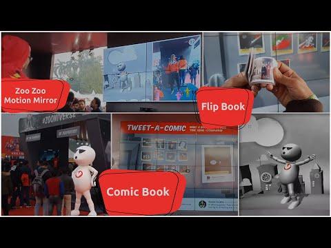 Vodafone | Digital Activity | Comic Con 2019 | Delhi