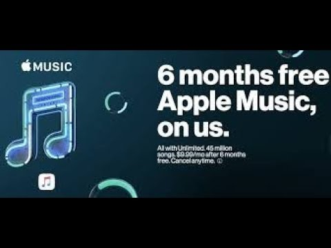 TUTORIAL: How to Get Apple Music 6 Months Free on Verizon