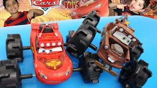 Disney Cars Off Road Lightning Mcqueen & Mater All Terrain Vehicles Playset