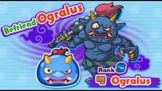 Unlocking HiddenStage & Befriending Ogralus In Terror Time Event1[Yokai Watch Wibble Wobble]Event#10