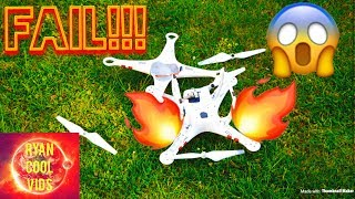 DRONE FLYING FAIL