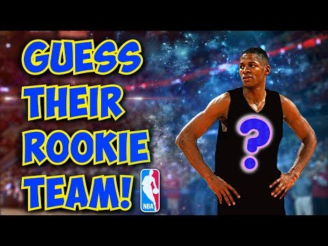 GUESS These NBA Players ROOKIE Teams!