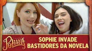 As Aventuras de Poliana | Sophie invade os estúdios da novela e mostra TUDO
