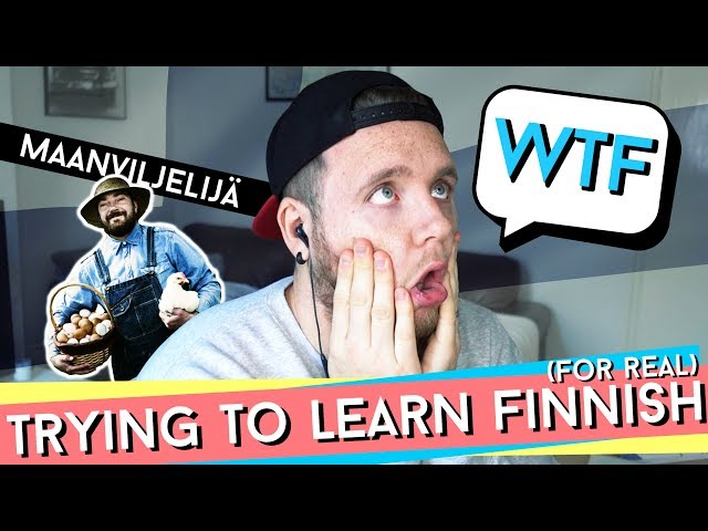 TRYING TO LEARN FINNISH (FOR REAL) | Part 4