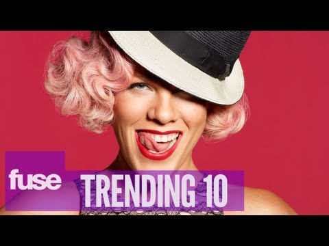 Pink Responds to Gay Accusations - Trending 10 (8/05/13)