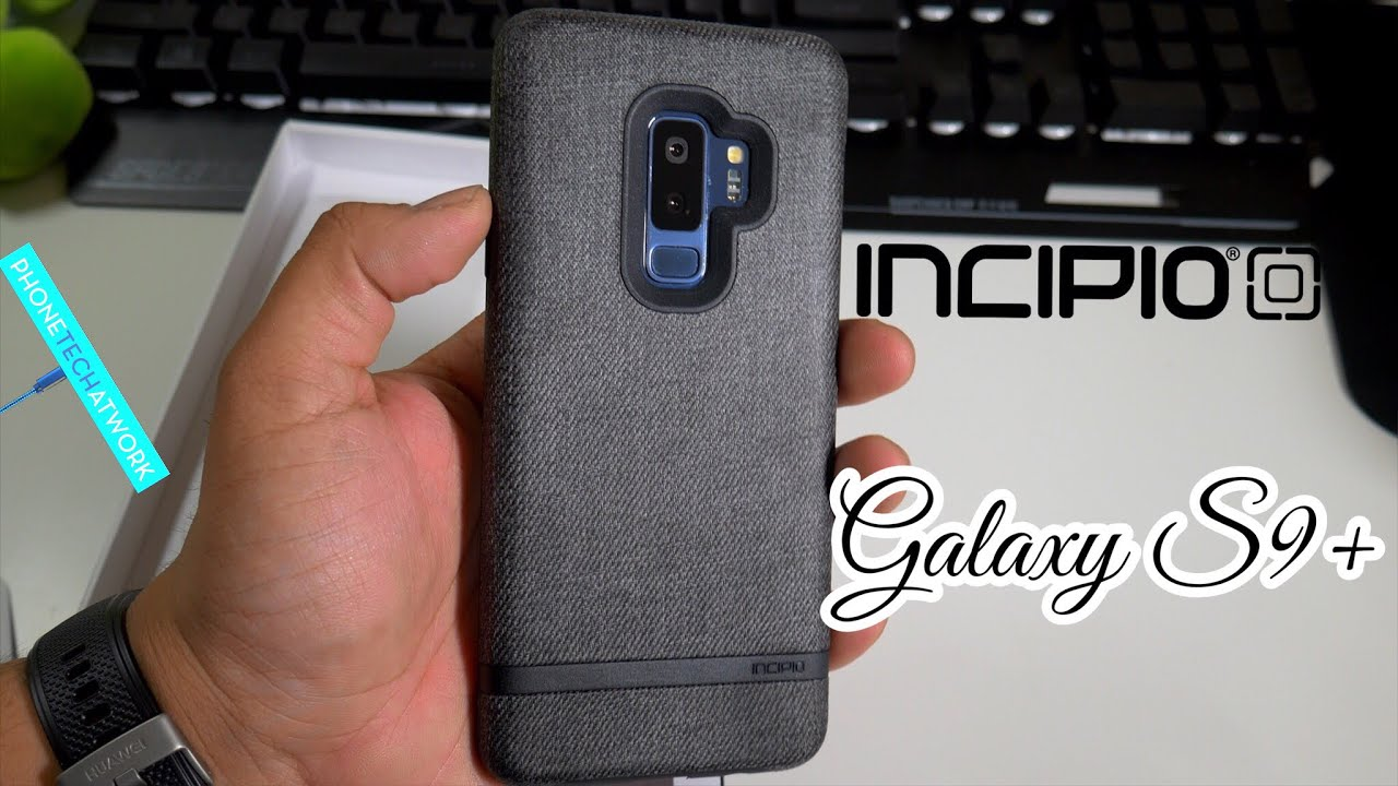 the best attitude 78868 24eba Samsung Galaxy S9 Plus Incipio Esquire Series Carnaby Case! Different With  Protection!