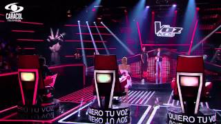 Hernando cantó 'Monalisa' de Alkilados - LVK Colombia- Audiciones a ciegas - T1 Video