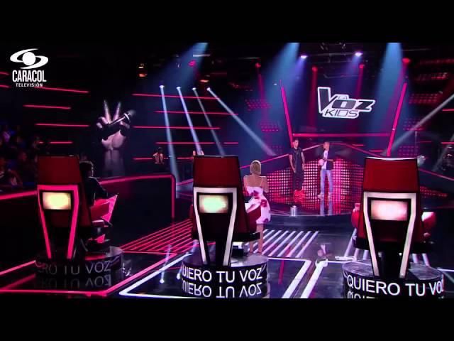 Hernando cantó 'Monalisa' de Alkilados - LVK Colombia- Audiciones a ciegas - T1 Videos De Viajes