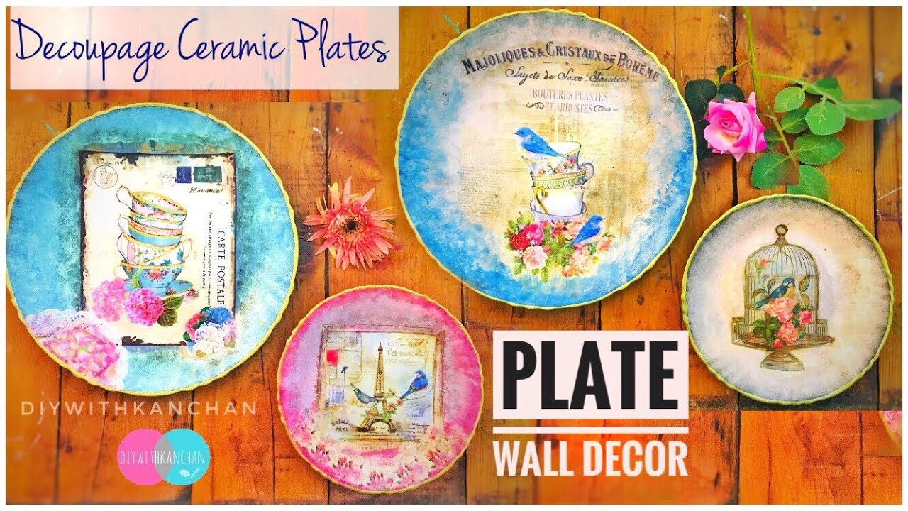 DIY Wall Plates Decor