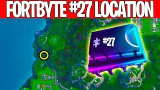 Fortbyte Location #27 -Found somewhere within map location A4!