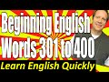 Frame from Basic English Speaking 4: Words 301 to 400 for Beginning English Language Learners