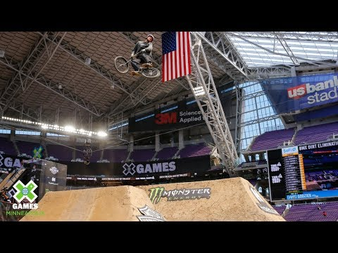 Godziek qualifies first in BMX Dirt | X Games Minneapolis 2019