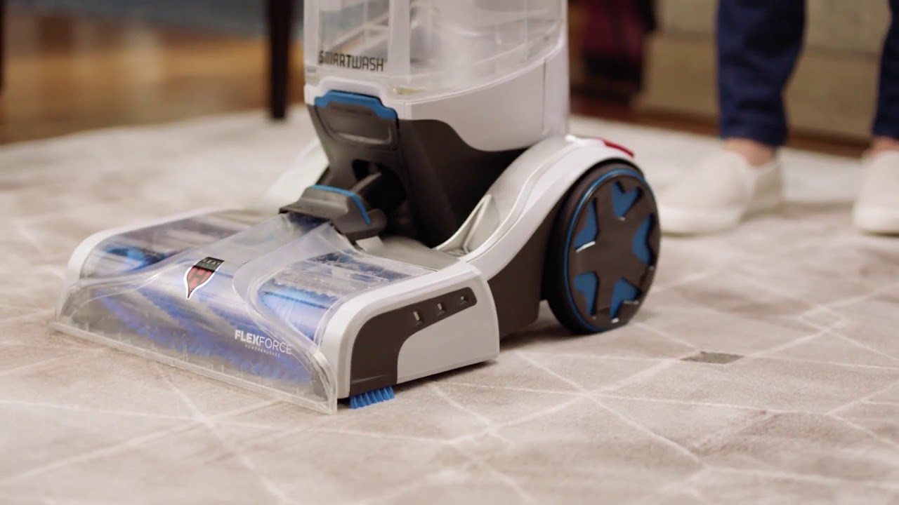 Hoover Smartwash Automatic Upright Carpet Cleaner Youtube