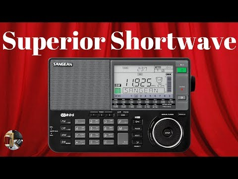 Sangean ATS-909X AM FM LW Shortwave SSB Portable Radio Unbox